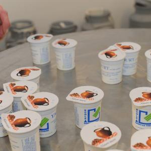 Les yaourts de l'ENIL de Saint-Lô Thère