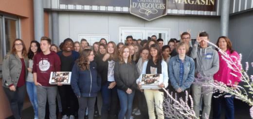 Visite des Chevaliers d'Argouges par les BTS ANABIOTEC