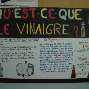 La fabrication du vinaigre