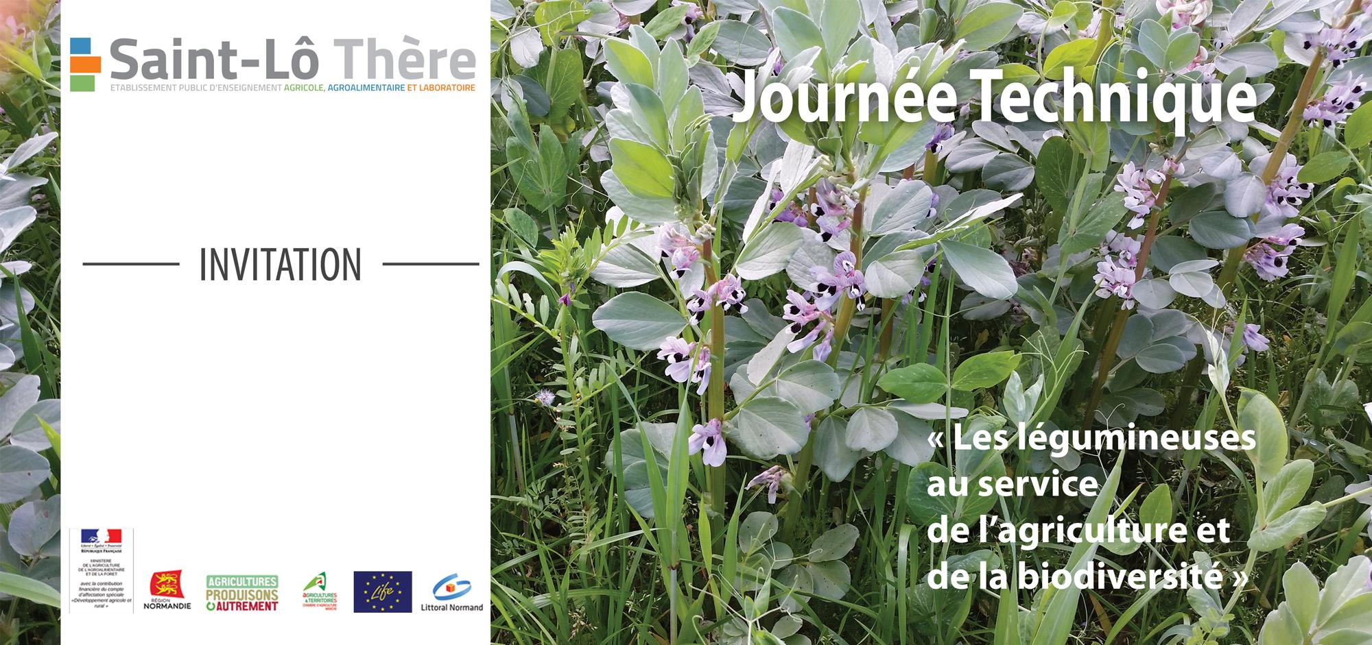 Journ es techniques saint l th re for Chambre agriculture manche