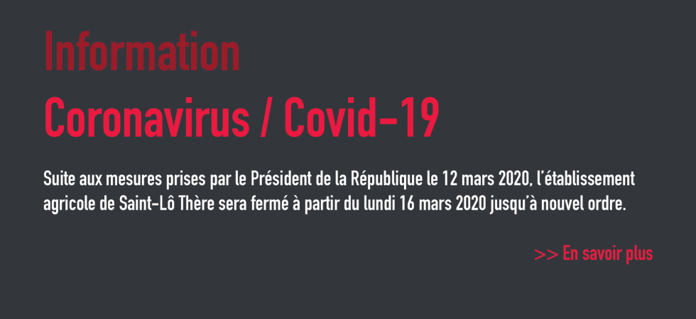 Coronavirus - Covid-19 Fermeture d'établissement